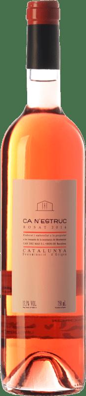 5,95 € 免费送货   玫瑰酒 Ca N'Estruc Joven D.O. Catalunya 加泰罗尼亚 西班牙 Tempranillo, Merlot, Cabernet Sauvignon 瓶子 75 cl