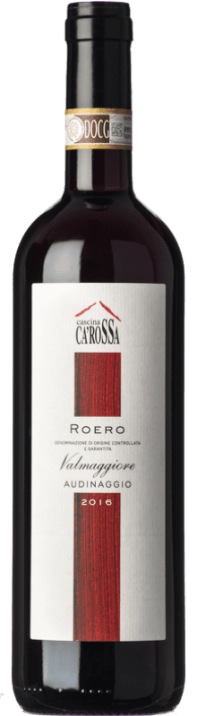 31,95 € Free Shipping | Red wine Ca' Rossa Audinaggio D.O.C.G. Roero Piemonte Italy Nebbiolo Bottle 75 cl
