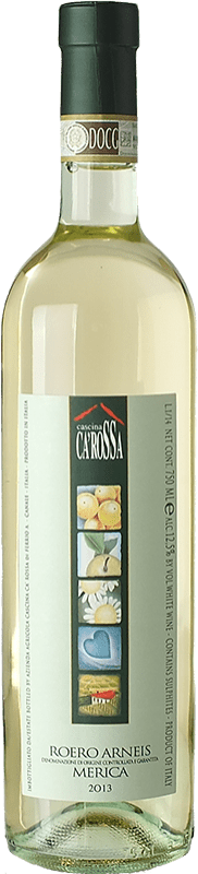 13,95 € Free Shipping | White wine Ca' Rossa Merica D.O.C.G. Roero Piemonte Italy Arneis Bottle 75 cl