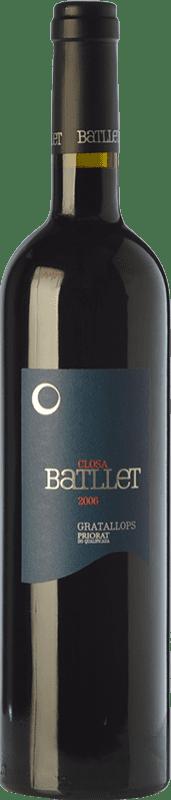 31,95 € Free Shipping | Red wine Cal Batllet Closa Crianza D.O.Ca. Priorat Catalonia Spain Merlot, Syrah, Grenache, Cabernet Sauvignon, Carignan Bottle 75 cl