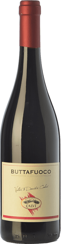9,95 € Free Shipping | Red wine Calvi Buttafuoco D.O.C. Oltrepò Pavese Lombardia Italy Barbera, Croatina, Rara, Ughetta Bottle 75 cl