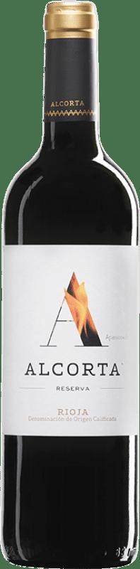 13,95 € Envío gratis | Vino tinto Campo Viejo Alcorta Reserva D.O.Ca. Rioja La Rioja España Tempranillo Botella 75 cl