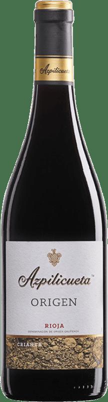 11,95 € | Red wine Campo Viejo Azpilicueta Origen Crianza D.O.Ca. Rioja The Rioja Spain Tempranillo Bottle 75 cl