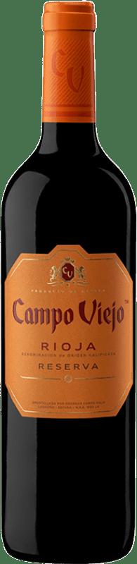 11,95 € | Red wine Campo Viejo Reserva D.O.Ca. Rioja The Rioja Spain Tempranillo, Graciano, Mazuelo Bottle 75 cl