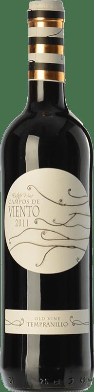 5,95 € Free Shipping | Red wine Campos de Viento Joven D.O. La Mancha Castilla la Mancha Spain Tempranillo Bottle 75 cl