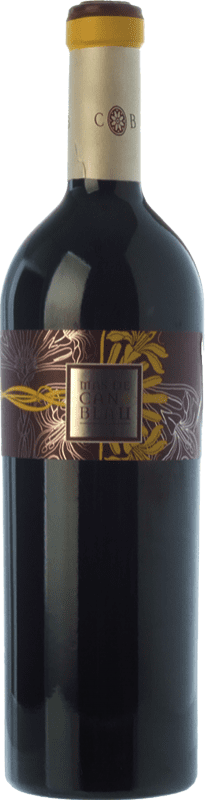 41,95 € Free Shipping | Red wine Can Blau Mas Crianza D.O. Montsant Catalonia Spain Syrah, Grenache, Carignan Bottle 75 cl
