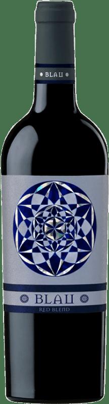 9,95 € Envío gratis | Vino tinto Can Blau Joven D.O. Montsant Cataluña España Syrah, Garnacha, Cariñena Botella 75 cl