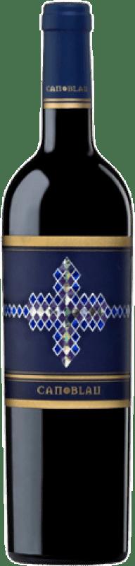 13,95 € Envío gratis | Vino tinto Can Blau Joven D.O. Montsant Cataluña España Syrah, Garnacha, Cariñena Botella 75 cl