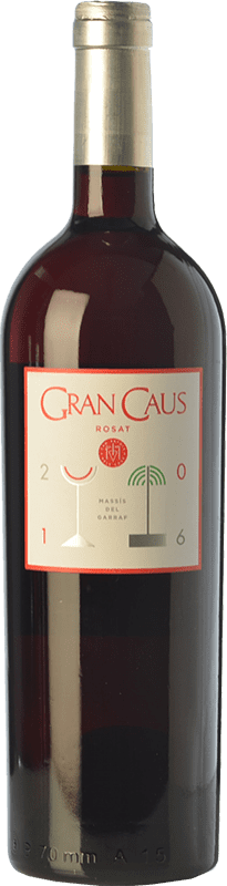 18,95 € Free Shipping | Rosé wine Can Ràfols Gran Caus D.O. Penedès Catalonia Spain Merlot Bottle 75 cl