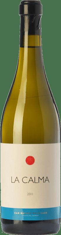 36,95 € Free Shipping | White wine Can Ràfols La Calma Crianza D.O. Penedès Catalonia Spain Chenin White Bottle 75 cl