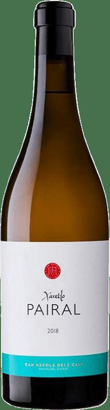 32,95 € Free Shipping | White wine Can Ràfols Pairal Crianza D.O. Penedès Catalonia Spain Xarel·lo Bottle 75 cl