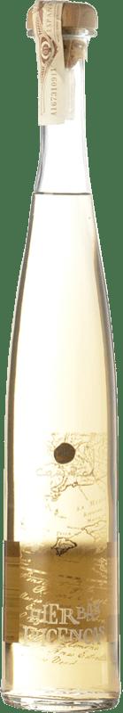 19,95 € Envío gratis | Licor de hierbas Can Rich Hierbas Ibicencas España Botella Misil 1 L