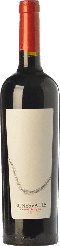 13,95 € | Red wine Can Tutusaus Bonesvalls Crianza D.O. Penedès Catalonia Spain Cabernet Sauvignon Bottle 75 cl