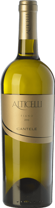 11,95 € | White wine Cantele Alticelli I.G.T. Salento Campania Italy Fiano Bottle 75 cl