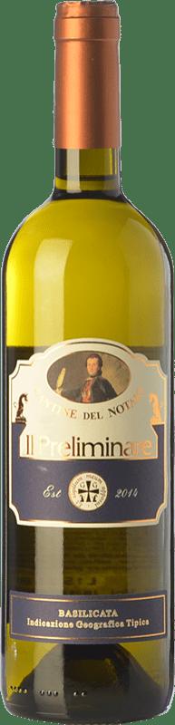 13,95 € Free Shipping   White wine Cantine del Notaio Il Preliminare I.G.T. Basilicata Basilicata Italy Malvasía, Aglianico, Chardonnay, Muscatel White Bottle 75 cl