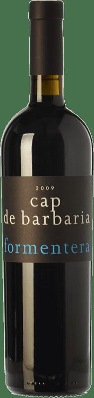 44,95 € Free Shipping | Red wine Cap de Barbaria Crianza I.G.P. Vi de la Terra de Formentera Balearic Islands Spain Merlot, Cabernet Sauvignon, Monastrell, Fogoneu Bottle 75 cl