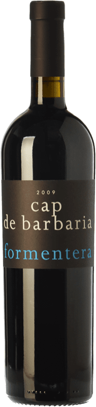 89,95 € | Red wine Cap de Barbaria Crianza 2008 I.G.P. Vi de la Terra de Formentera Balearic Islands Spain Merlot, Cabernet Sauvignon, Monastrell, Fogoneu Magnum Bottle 1,5 L