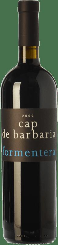 37,95 € Free Shipping | Red wine Cap de Barbaria Crianza I.G.P. Vi de la Terra de Formentera Balearic Islands Spain Merlot, Cabernet Sauvignon, Monastrell, Fogoneu Magnum Bottle 1,5 L