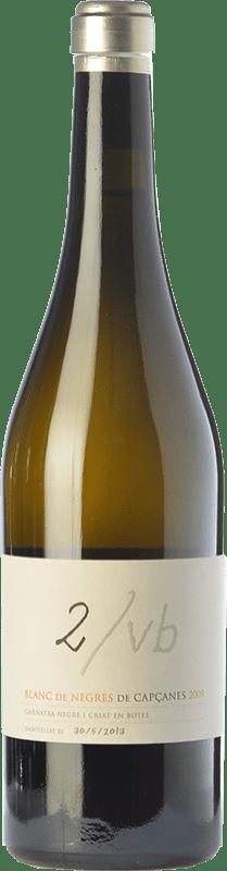 45,95 € Envío gratis | Vino blanco Capçanes Blanc de Negres 2/VB Crianza D.O. Montsant Cataluña España Garnacha Botella 75 cl