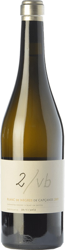 45,95 € | White wine Capçanes Blanc de Negres 2/VB Crianza 2009 D.O. Montsant Catalonia Spain Grenache Bottle 75 cl
