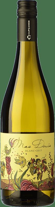 7,95 € Envío gratis | Vino blanco Capçanes Mas Donís Blanc D.O. Montsant Cataluña España Garnacha Blanca, Macabeo Botella 75 cl