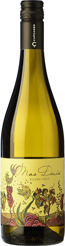 7,95 € Free Shipping | White wine Capçanes Mas Donís Blanc D.O. Montsant Catalonia Spain Grenache White, Macabeo Bottle 75 cl