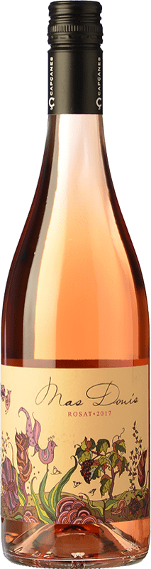 7,95 € Envío gratis | Vino rosado Capçanes Mas Donís Rosat D.O. Montsant Cataluña España Merlot, Syrah, Garnacha Botella 75 cl