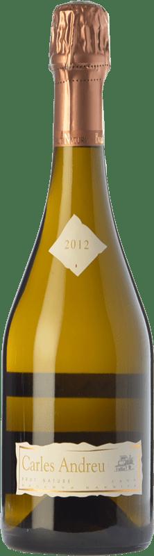 19,95 € 免费送货 | 白起泡酒 Carles Andreu Barrica Brut Nature Reserva D.O. Cava 加泰罗尼亚 西班牙 Macabeo, Chardonnay, Parellada 瓶子 75 cl