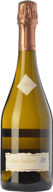 19,95 € Free Shipping | White sparkling Carles Andreu Barrica Brut Nature Reserva D.O. Cava Catalonia Spain Macabeo, Chardonnay, Parellada Bottle 75 cl