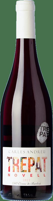 7,95 € Envío gratis | Vino tinto Carles Andreu Novell Joven D.O. Conca de Barberà Cataluña España Trepat Botella 75 cl