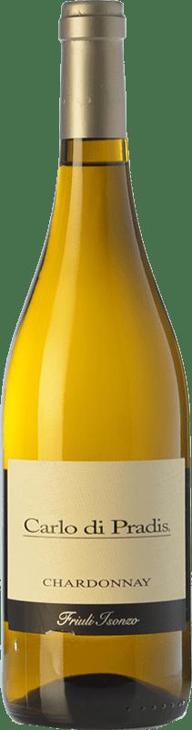 11,95 € Free Shipping | White wine Carlo di Pradis D.O.C. Friuli Isonzo Friuli-Venezia Giulia Italy Chardonnay Bottle 75 cl
