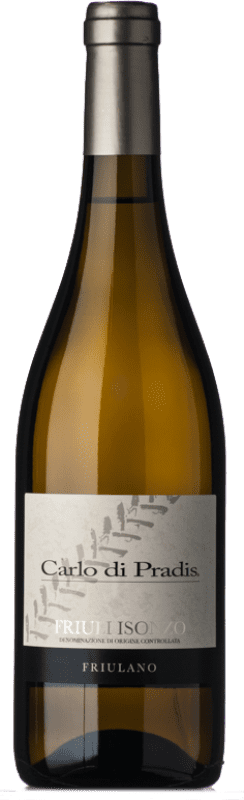 13,95 € Free Shipping | White wine Carlo di Pradis D.O.C. Friuli Isonzo Friuli-Venezia Giulia Italy Friulano Bottle 75 cl