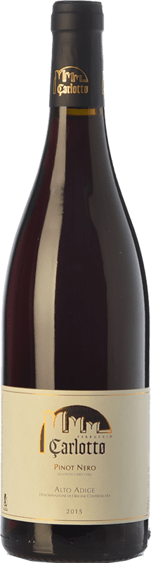 29,95 € Free Shipping | Red wine Carlotto Pinot Nero D.O.C. Alto Adige Trentino-Alto Adige Italy Pinot Black Bottle 75 cl