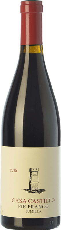 75,95 € Envío gratis | Vino tinto Casa Castillo Pie Franco Crianza D.O. Jumilla Castilla la Mancha España Monastrell Botella 75 cl