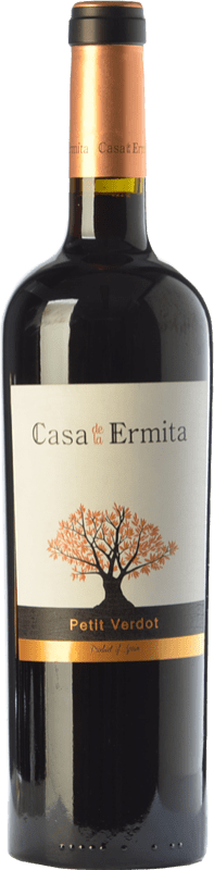 19,95 € | Red wine Casa de la Ermita Crianza D.O. Jumilla Castilla la Mancha Spain Petit Verdot Bottle 75 cl