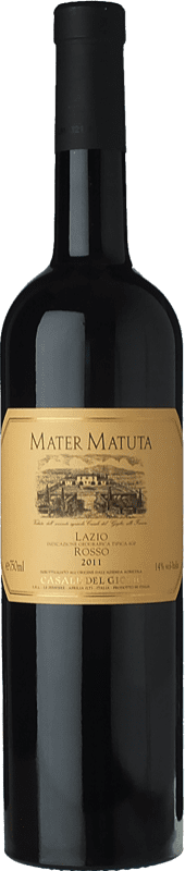 34,95 € Free Shipping | Red wine Casale del Giglio Mater Matuta I.G.T. Lazio Lazio Italy Syrah, Petit Verdot Bottle 75 cl