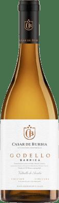 13,95 € Spedizione Gratuita | Vino bianco Casar de Burbia Fermentado en Barrica Crianza D.O. Bierzo Castilla y León Spagna Godello Bottiglia 75 cl