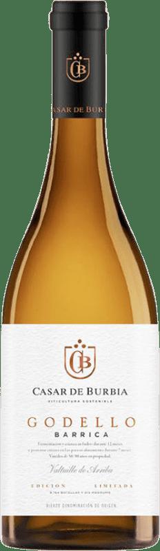 13,95 € 免费送货 | 白酒 Casar de Burbia Fermentado en Barrica Crianza D.O. Bierzo 卡斯蒂利亚莱昂 西班牙 Godello 瓶子 75 cl