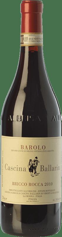 55,95 € Free Shipping | Red wine Cascina Ballarin Bricco Rocca 2010 D.O.C.G. Barolo Piemonte Italy Nebbiolo Bottle 75 cl