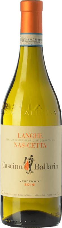15,95 € Free Shipping | White wine Cascina Ballarin D.O.C. Langhe Piemonte Italy Nascetta Bottle 75 cl