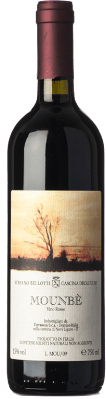 55,95 € | Red wine Cascina degli Ulivi Mounbè 2009 D.O.C. Piedmont Piemonte Italy Dolcetto, Barbera, Ancellotta Bottle 75 cl