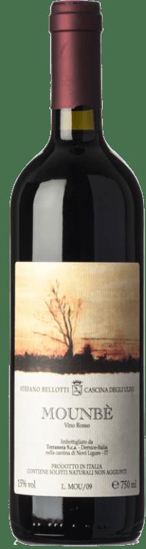 55,95 € Free Shipping | Red wine Cascina degli Ulivi Mounbè 2009 D.O.C. Piedmont Piemonte Italy Dolcetto, Barbera, Ancellotta Bottle 75 cl