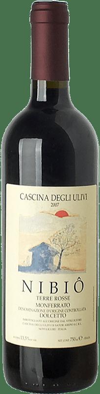 23,95 € Free Shipping | Red wine Cascina degli Ulivi Nibiô D.O.C. Monferrato Piemonte Italy Dolcetto Bottle 75 cl