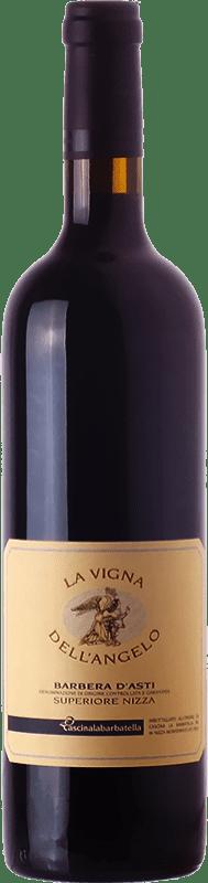 32,95 € Free Shipping | Red wine La Barbatella La Vigna dell'Angelo D.O.C. Barbera d'Asti Piemonte Italy Barbera Bottle 75 cl