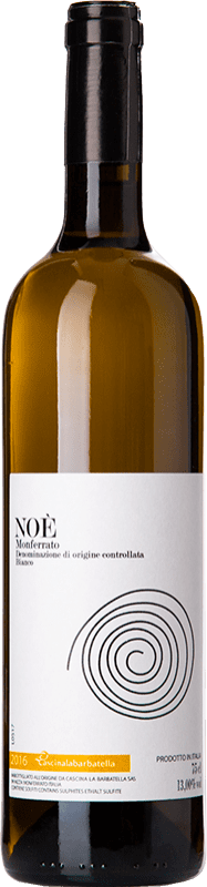 18,95 € Free Shipping | White wine La Barbatella Noè D.O.C. Monferrato Piemonte Italy Cortese, Sauvignon Bottle 75 cl