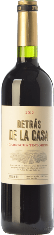 12,95 € | Red wine Castaño Detrás de la Casa Crianza D.O. Yecla Region of Murcia Spain Grenache Tintorera Bottle 75 cl