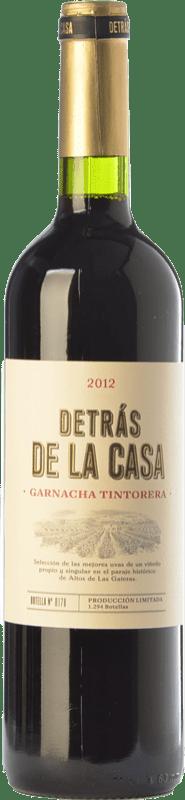 18,95 € Envío gratis | Vino tinto Castaño Detrás de la Casa Crianza D.O. Yecla Región de Murcia España Garnacha Tintorera Botella 75 cl
