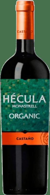 7,95 € Envío gratis | Vino tinto Castaño Hécula Joven D.O. Yecla Región de Murcia España Monastrell Botella 75 cl