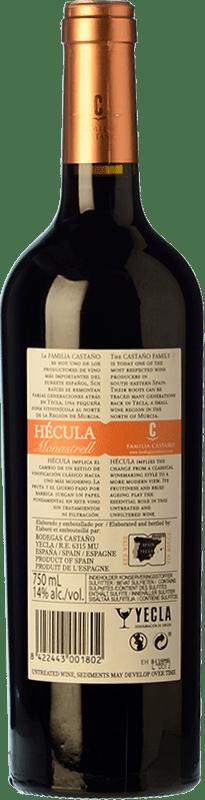 7,95 € Free Shipping   Red wine Castaño Hécula Joven D.O. Yecla Region of Murcia Spain Monastrell Bottle 75 cl