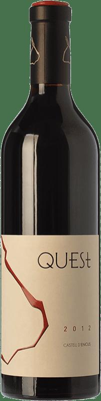 41,95 € Envoi gratuit | Vin rouge Castell d'Encús Quest Joven D.O. Costers del Segre Catalogne Espagne Merlot, Cabernet Sauvignon, Cabernet Franc, Petit Verdot Bouteille 75 cl